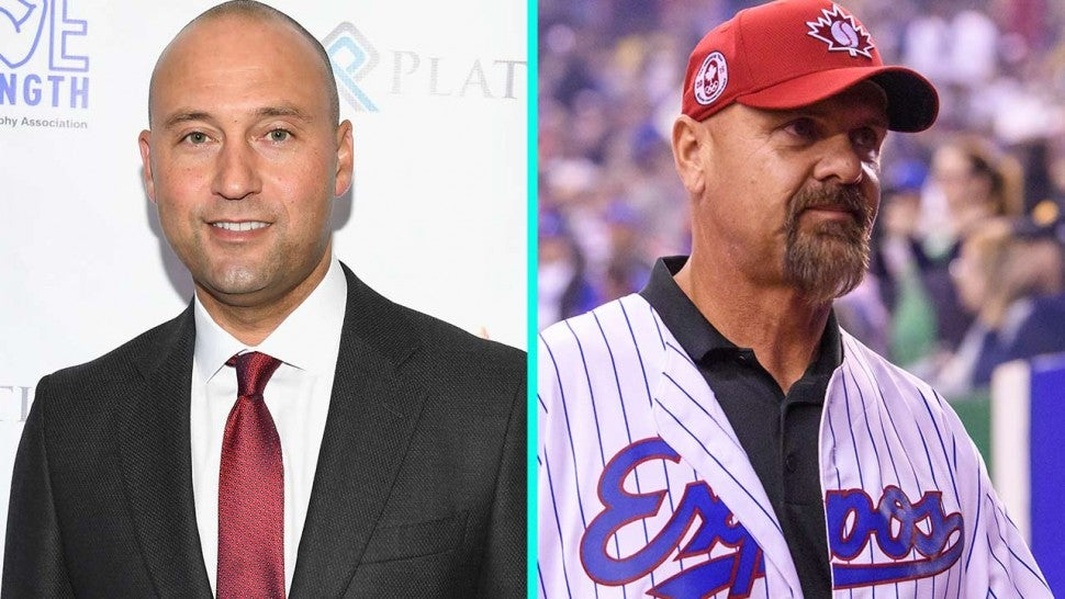 MLB icons Derek Jeter and Larry Walker