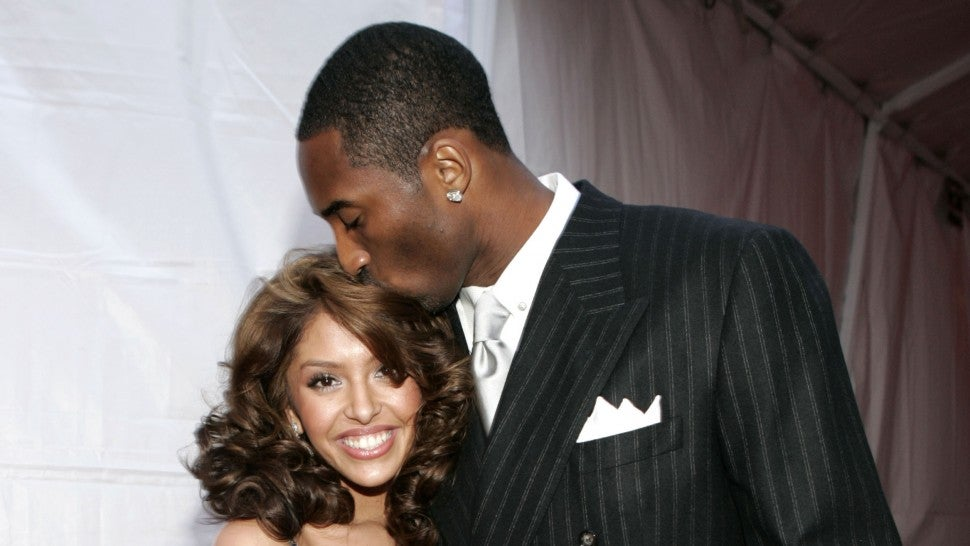 Kobe Bryant and his wife Vanessa Bryant at 2004 MTV Movie Awards