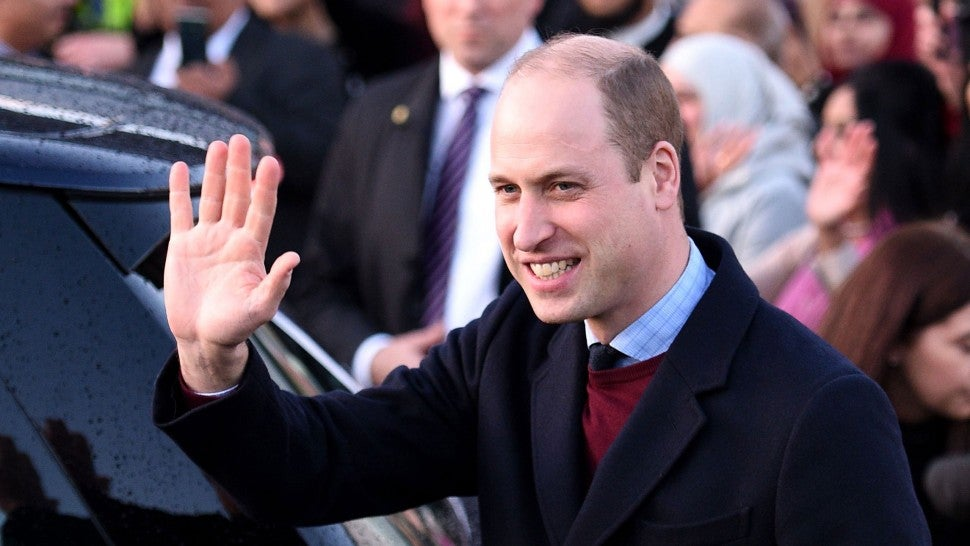 prince william in bradford