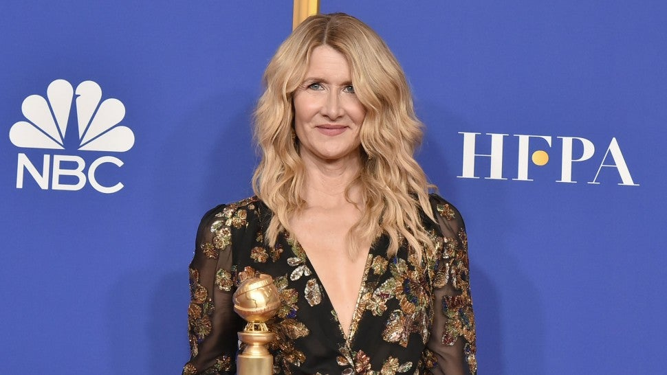 Laura Dern at The 77th Golden Globes Awards - Press Room