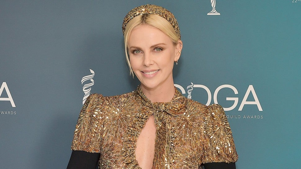 Charlize Theron, recipient of the Spotlght award, attends the 22nd CDGA