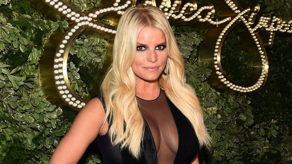 Jessica Simpson at the 10th Anniversary Celebration of the Jessica Simpson Collection