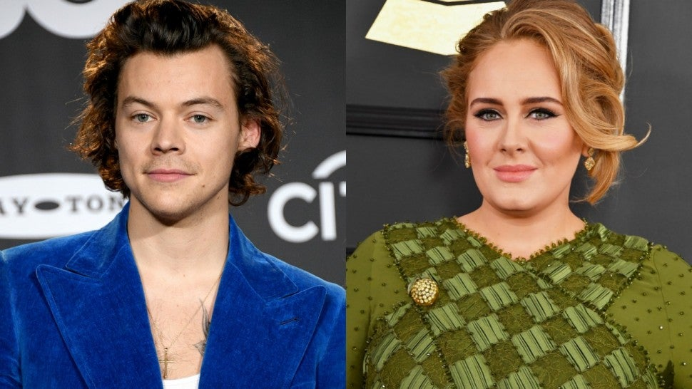 Harry Styles Adele