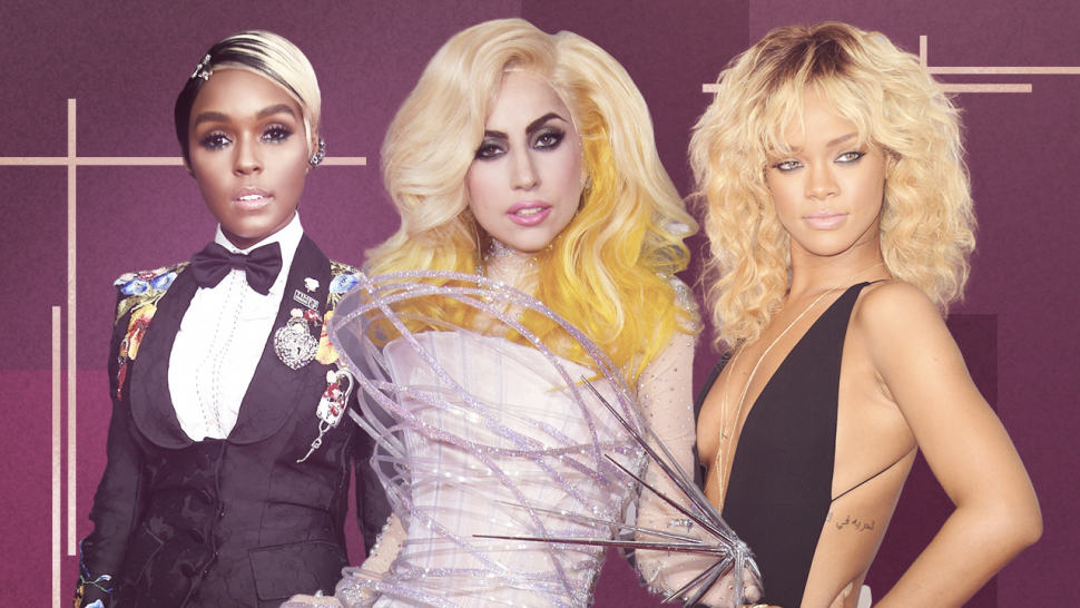 best dressed grammys ever: lady gaga, janelle monae, rihanna
