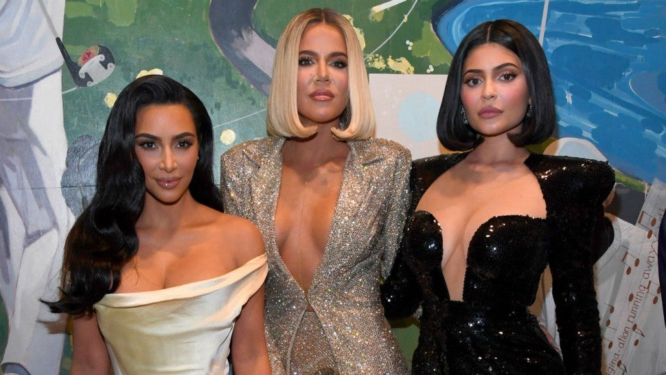 Kim and Khloe Kardashian and Kylie Jenner