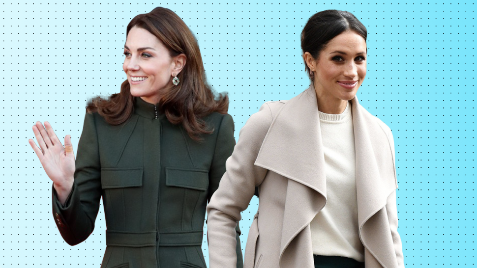 Kate Middleton and Meghan Markle coats 1280