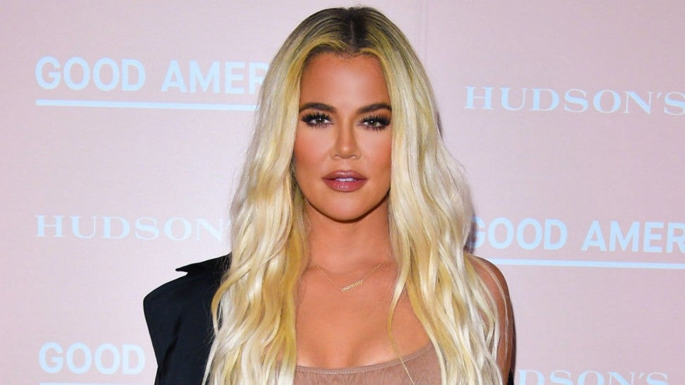 Khloe Kardashian Channels Britney Spears And Justin Timberlake In All Denim Look Entertainment Tonight