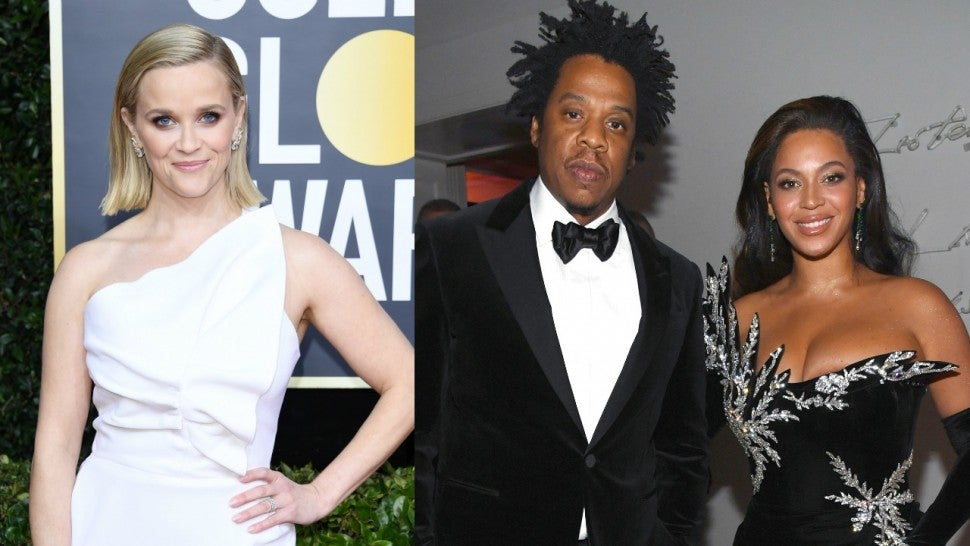 Reese Witherspoon Beyonce Jay Z