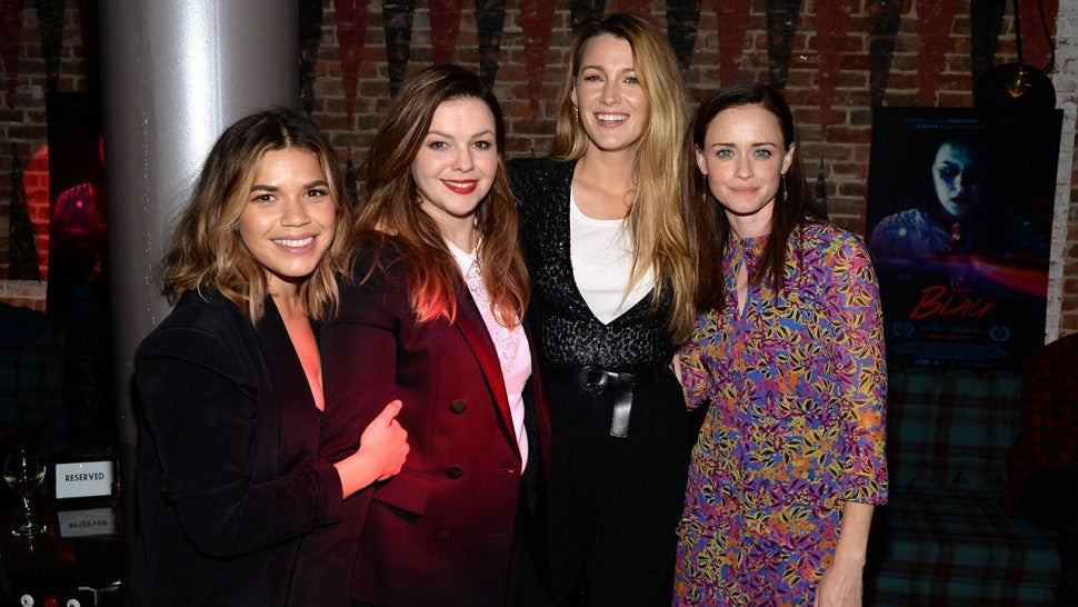 America Ferrera and Amber Tamblyn Celebrate 'Traveling Pants' Anniversary With a Throwback Pic.jpg
