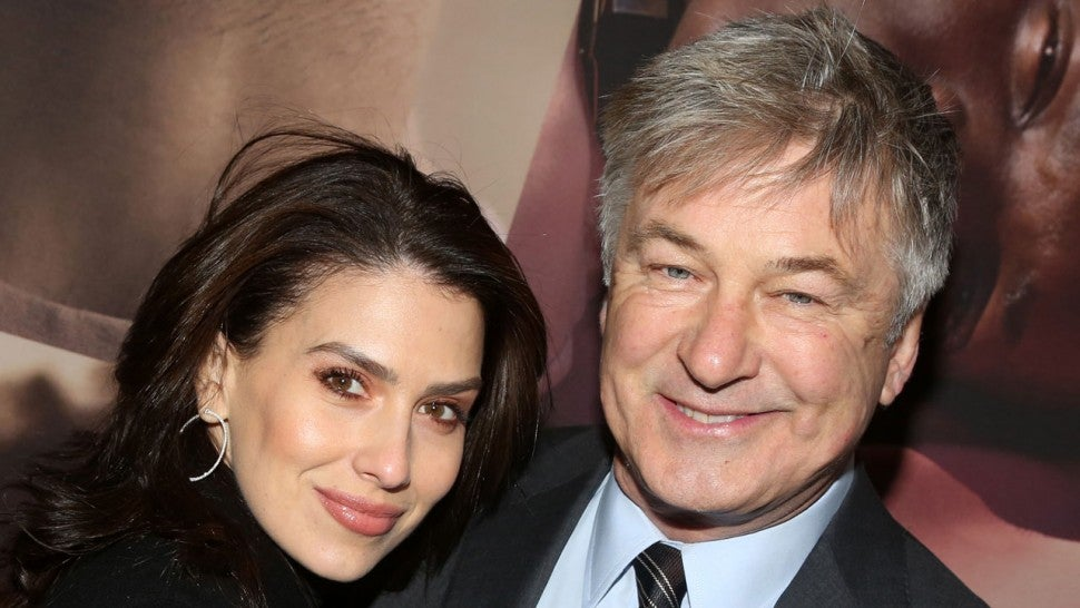 Alec Baldwin and Hilaria Baldwin at west side story opening night