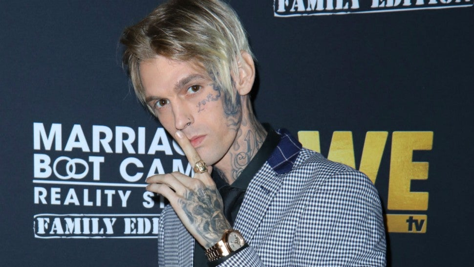 Aaron Carter Shows Fiancée's Positive Pregnancy Test After She Suffered a Miscarriage.jpg