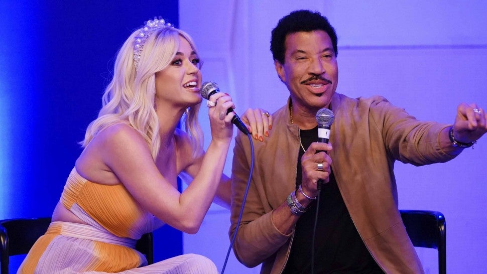 Katy Perry Lionel Richie