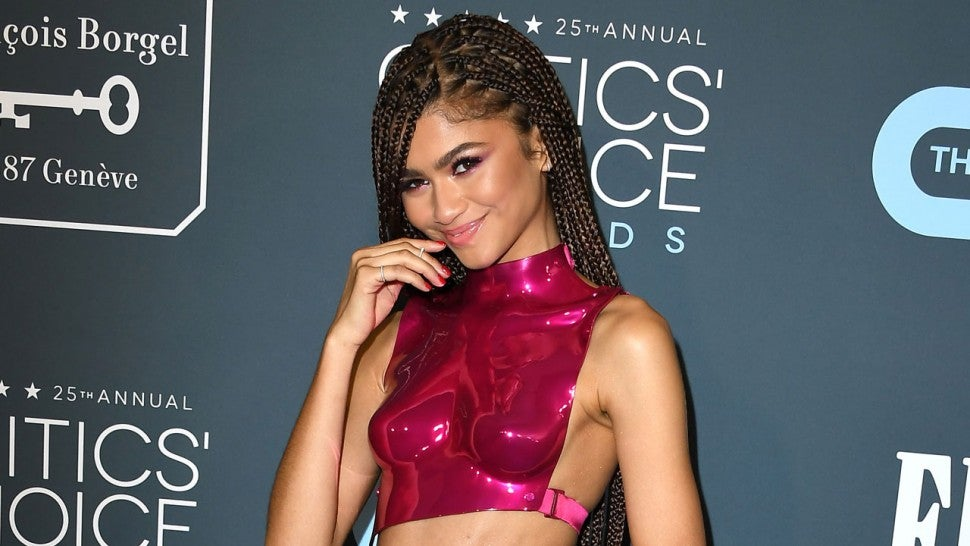 Zendaya at the 25th Annual Critics' Choice Awards