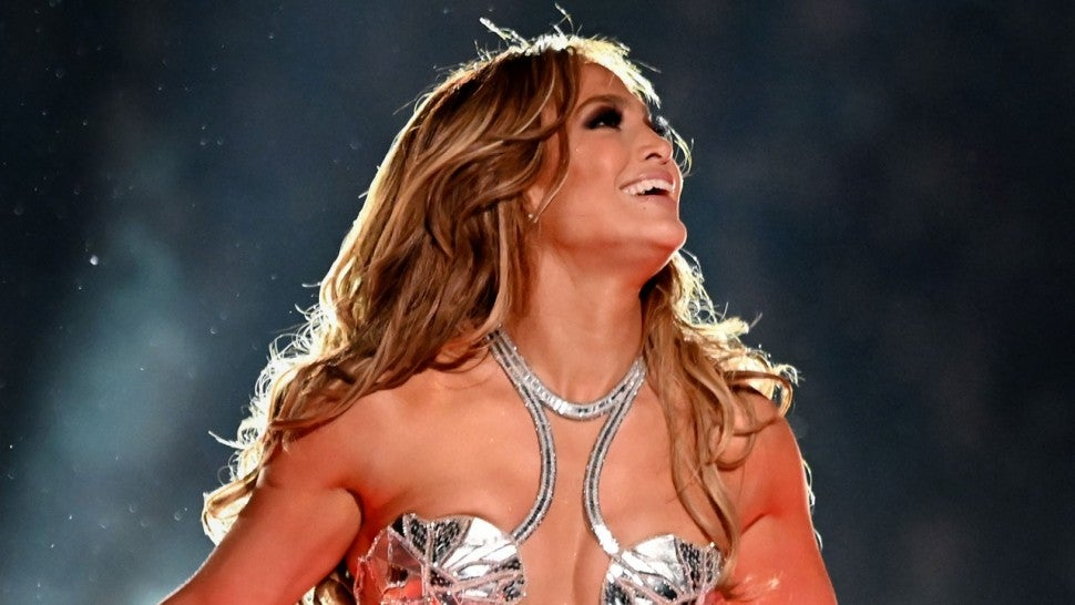 Jennifer Lopez performs during the Pepsi Super Bowl LIV Halftime Show