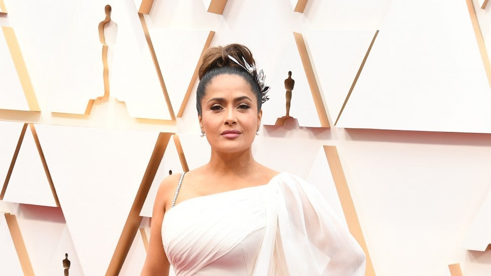 Salma Hayek attends the 92nd Annual Academy Awards at Hollywood and Highland on February 09, 2020 in Hollywood, California.