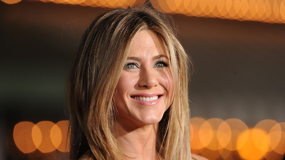 Jennifer Aniston at the premiere of Universal Pictures' 'Wanderlust' in 2012