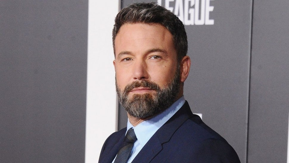 Ben Affleck at Justice League premiere