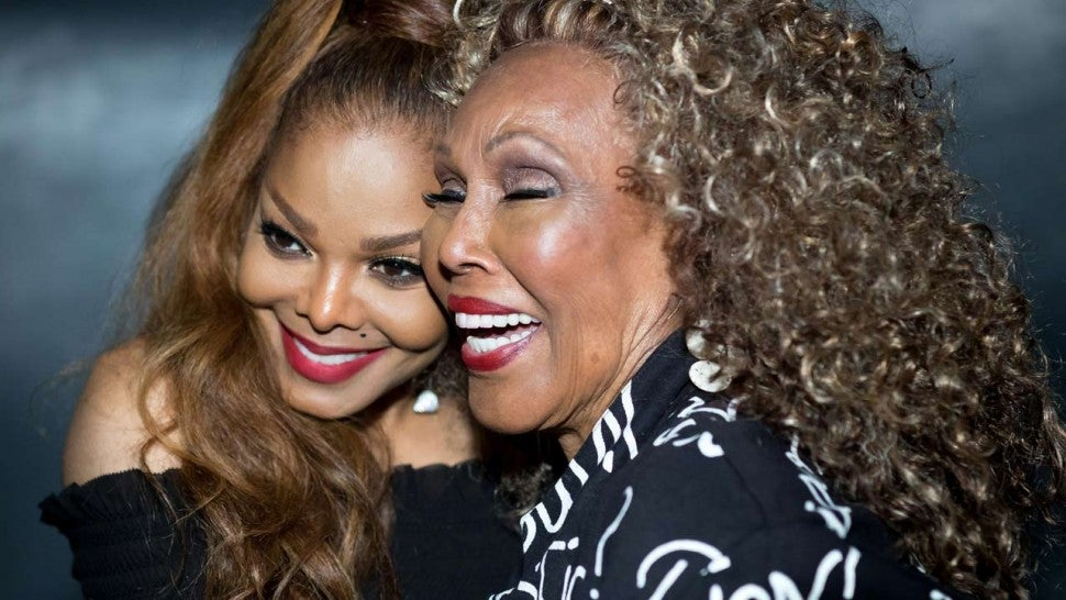 Janet Jackson and Ja'net DuBois