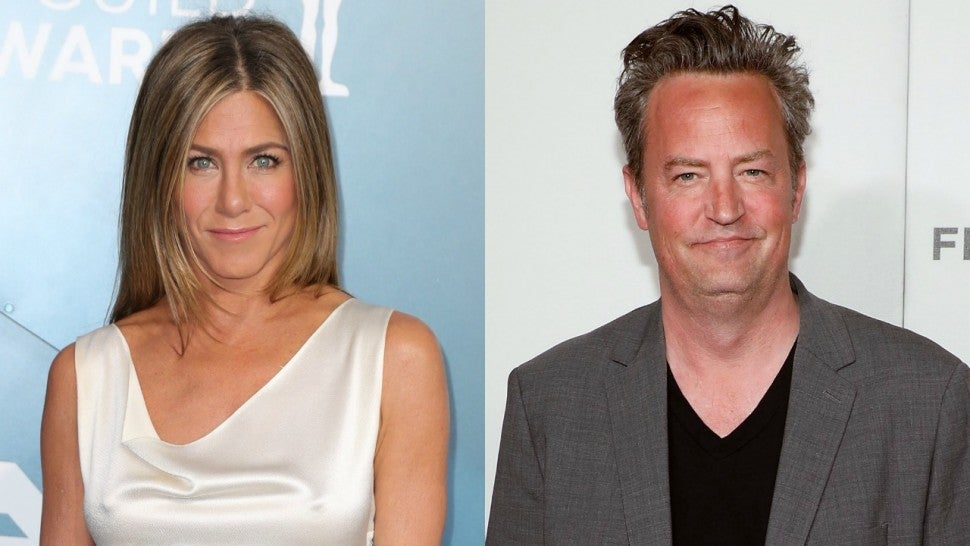 Jennifer Aniston and Matthew Perry