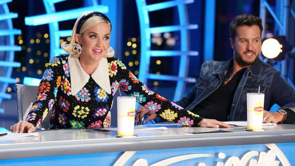 Katy Perry and Luke Bryan on 'American Idol'