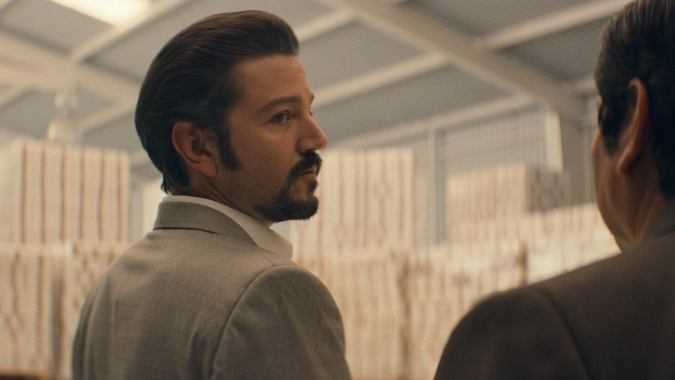 Narcos image of diego luna