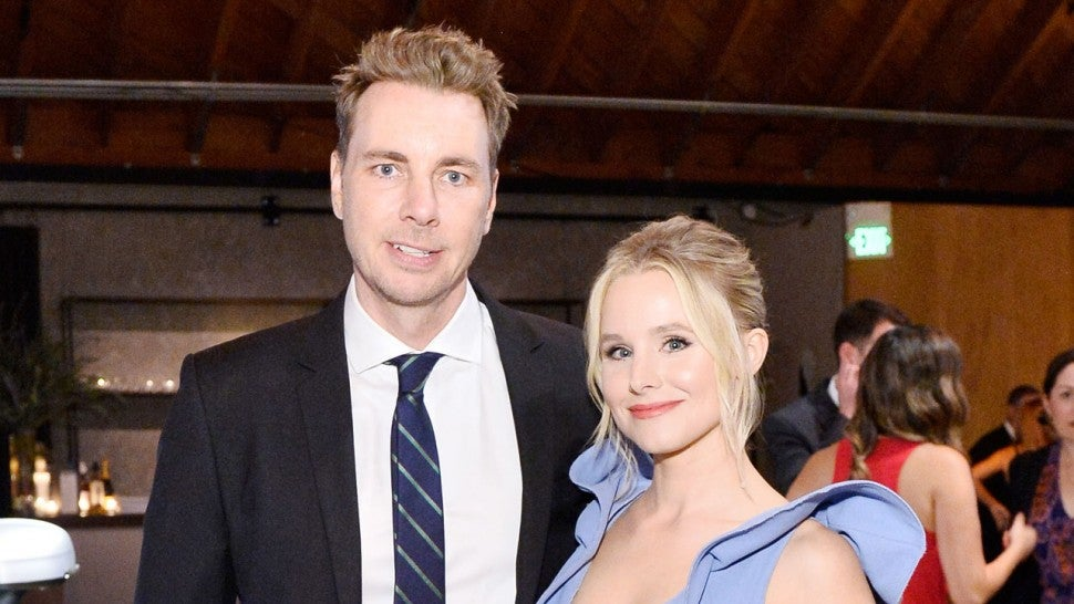 Dax Shepard and Kristen Bell at The 2017 Baby2Baby Gala