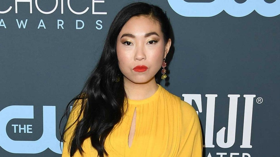 Awkwafina at critics choice awards