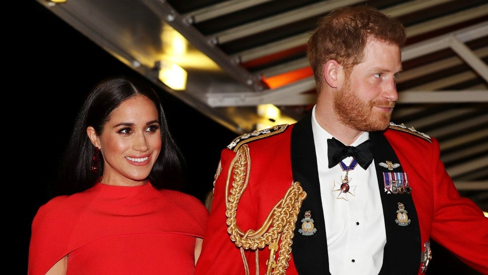 Prince Harry and Meghan Markle Mountbatten