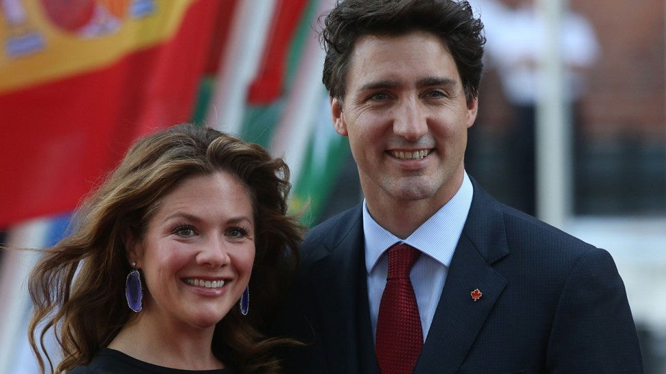 Justin Trudeau's Wife, Sophie Grégoire Trudeau, Tests Positive for ...
