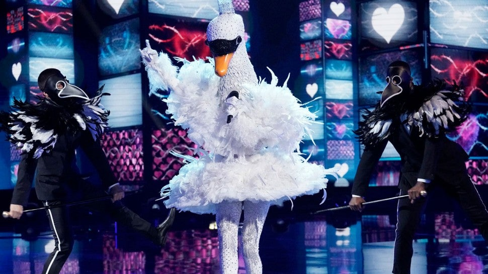 The Swan on 'The Masked Singer'