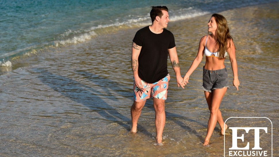Taylor Dye and Josh Kerr Enjoy the Grenada Beaches