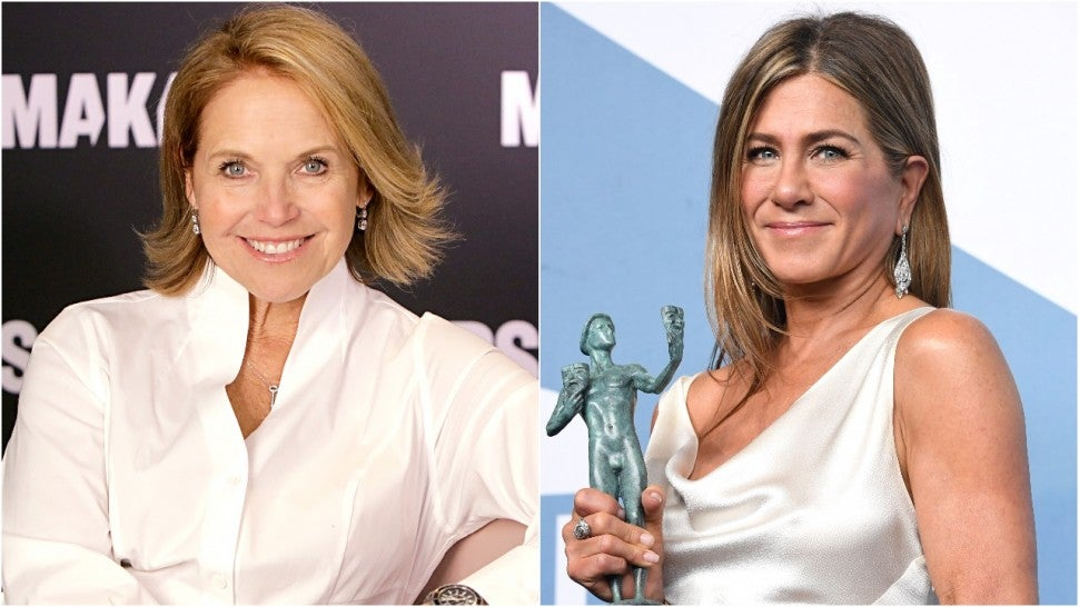 Katie Couric Jennifer Aniston Split