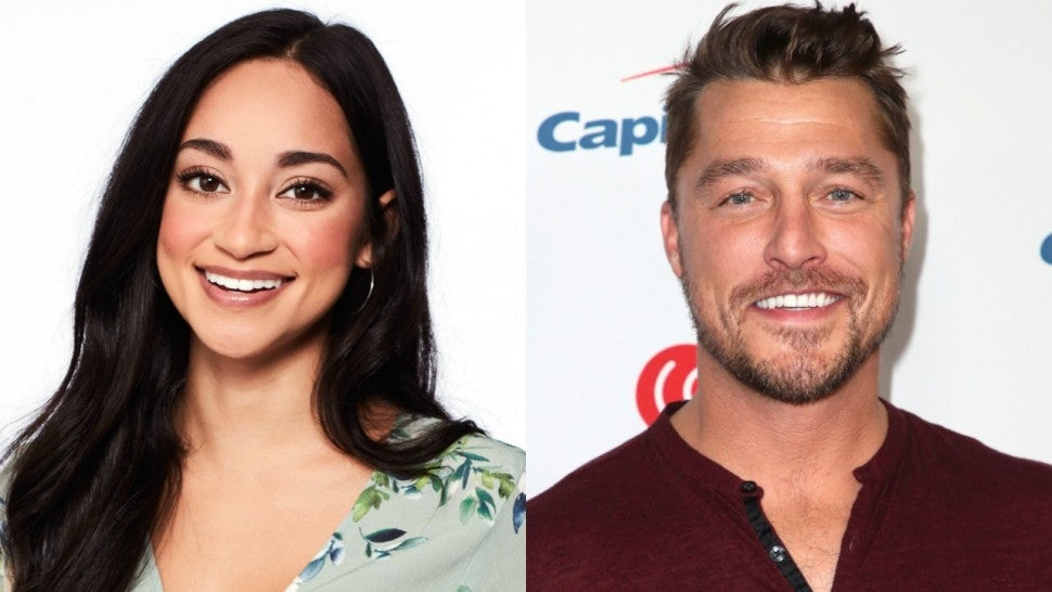 Victoria Fuller and Chris Soules