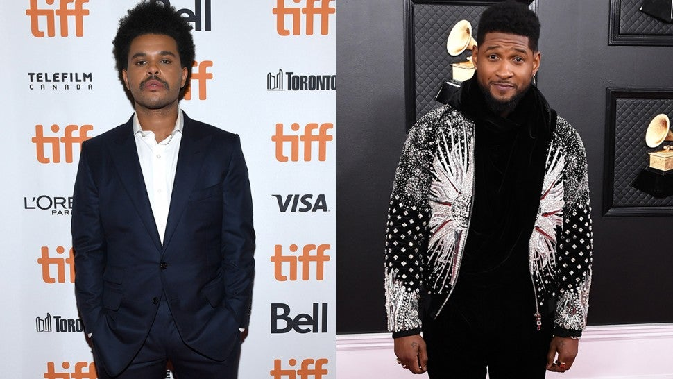 The Weeknd and Usher