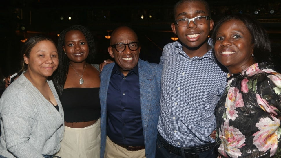 Al Roker and family