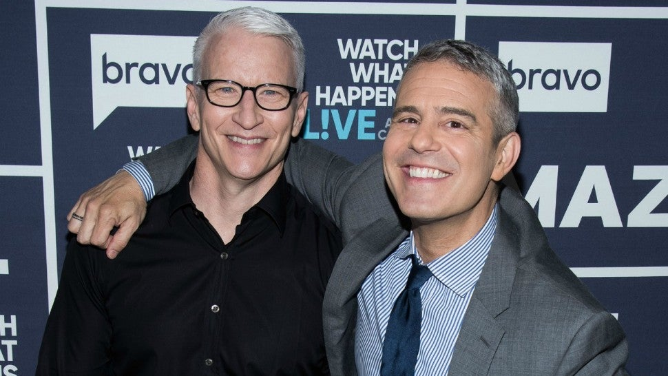 Anderson Cooper Says Andy Cohen's Son Benjamin Microwaved His Son Wyatt's Talking Teddy Bear.jpg