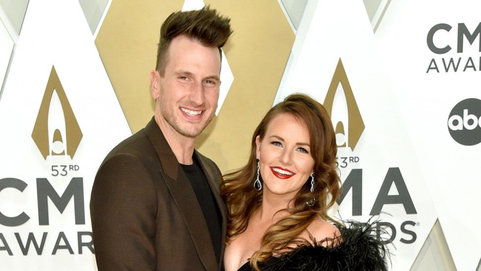 Russell Dickerson and Kailey Dickerson at the 53rd annual CMA Awards