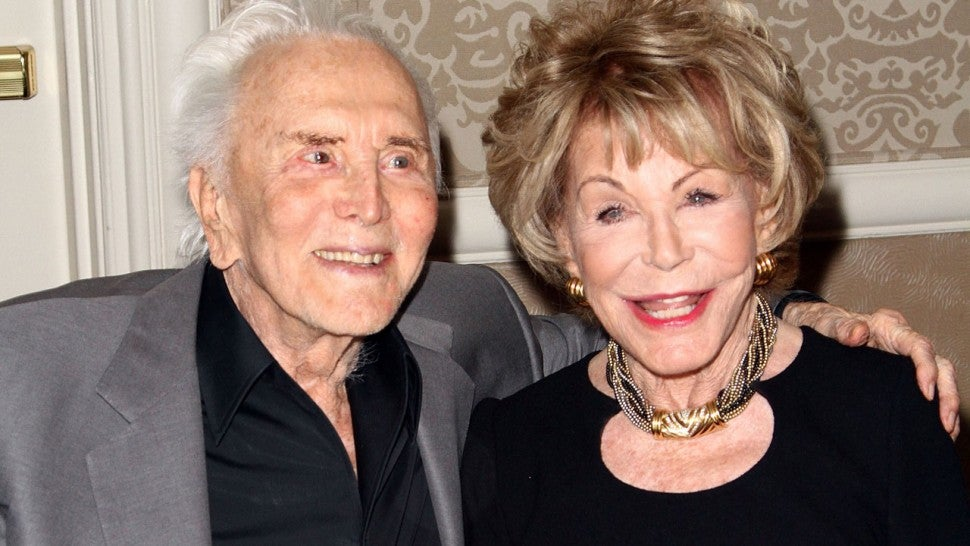 Kirk Douglas and his wife Anne Douglas