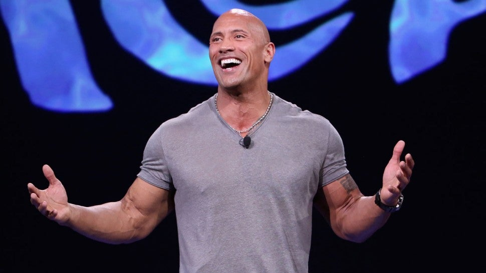 Dwayne Johnson in 2015