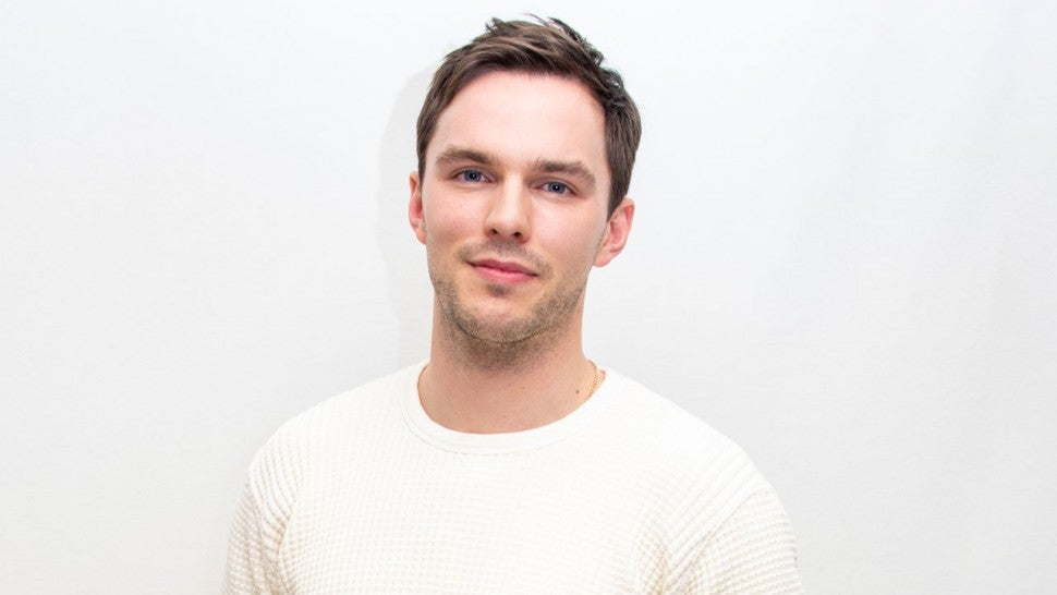 "Nicholas Hoult at ""The Great"" Press Conference in january 2020"