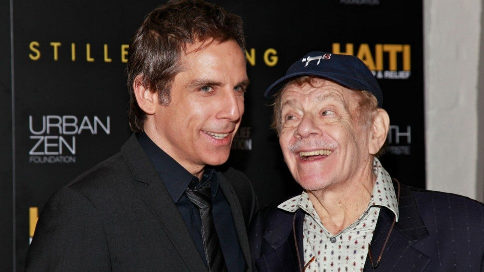 Ben and Jerry Stiller in 2011