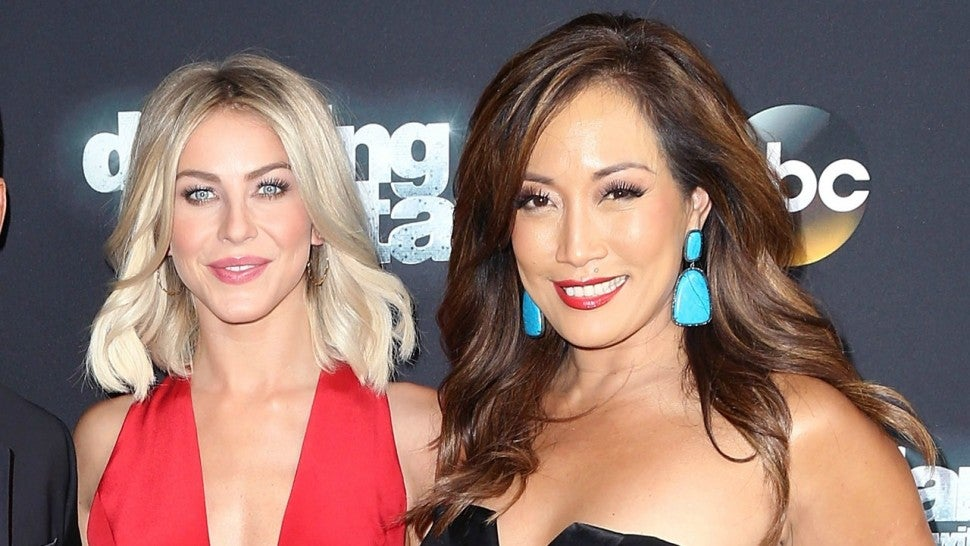 Carrie Ann Inaba and Julianne Hough