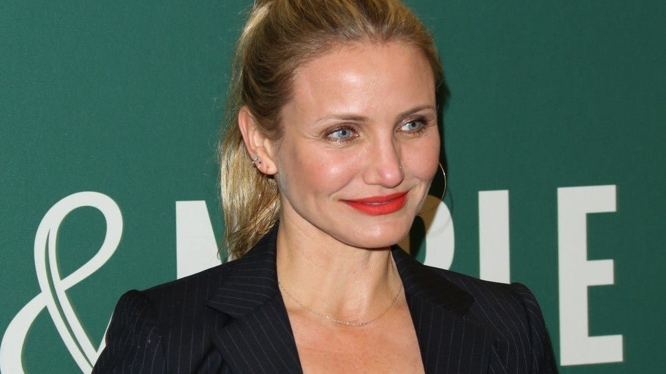 "Actress Cameron Diaz signs copies of her new book ""The Longevity Book: The Science Of Aging, The Biology Of Strength And The Privilege Of Time"" at Barnes & Noble"