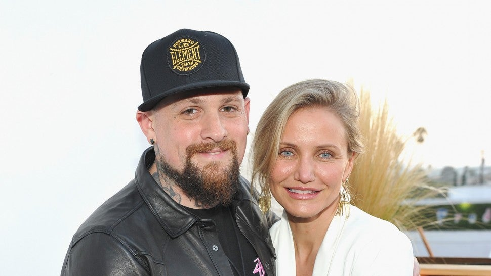 Benji Madden and Cameron Diaz in 2016