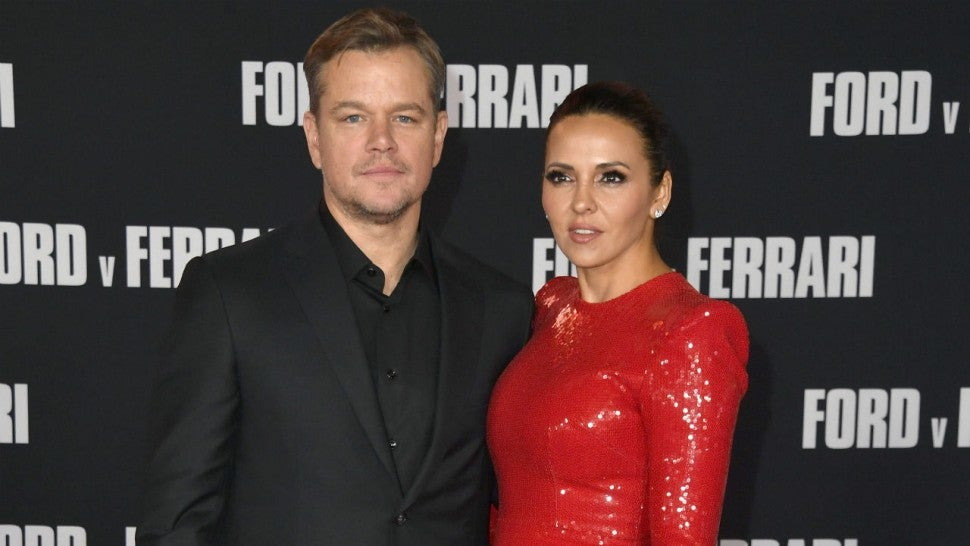 Matt Damon Says His Oldest Daughter Contracted COVID-19 While He ...