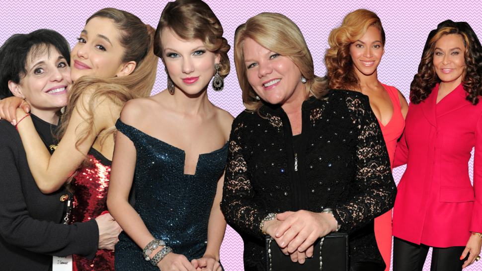 Celebs and their moms: Ariana Grande, Taylor Swift, Beyonce