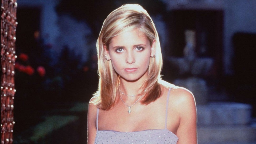 Sarah Michelle Gellar in 'Buffy'
