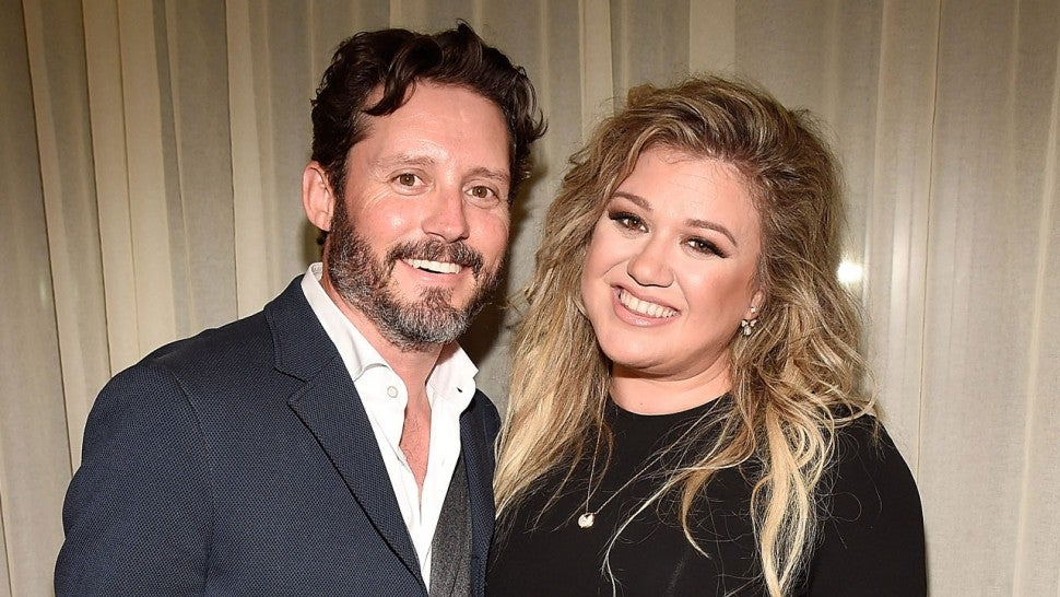 brandon blackstock and kelly clarkson in 2017