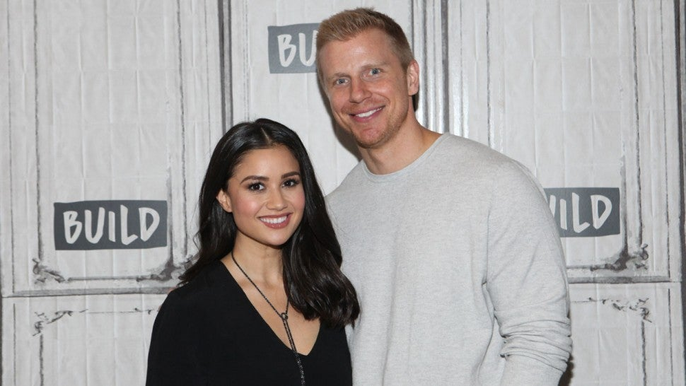 Catherine Lowe and Sean Lowe at Build Series in 2017