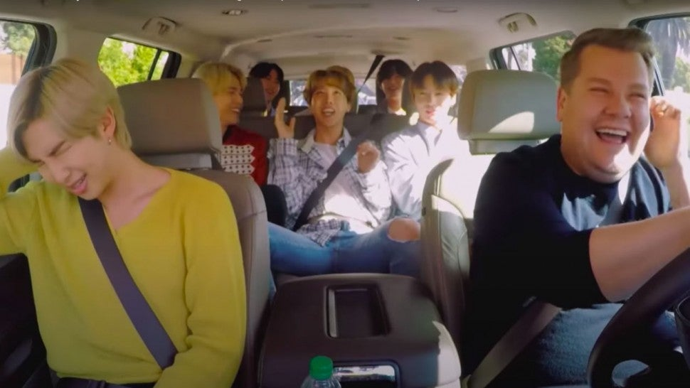 BTS in 'Carpool Karaoke'